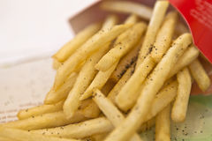 Delicious fries Royalty Free Stock Photography