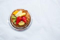 Delicious fruit bread Stock Photo