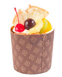 Delicious fruit cake Royalty Free Stock Photo