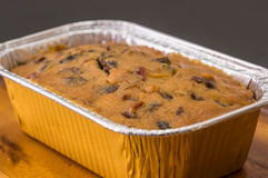 Delicious fruit cake with mixed fruit Royalty Free Stock Photo