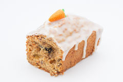 Delicious fruit cake with mixed fruit and nuts Royalty Free Stock Photography