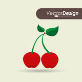 Delicious fruit design. Illustration eps10 graphic Stock Photos