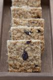 Delicious fruit flapjack Royalty Free Stock Photo