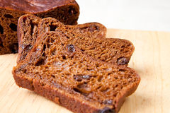 Delicious fruit loaf Stock Photos