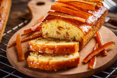 Delicious fruit loaves of bread stock photography