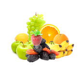Delicious Fruit Mix Royalty Free Stock Photography