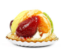 Delicious fruit pie Royalty Free Stock Photography
