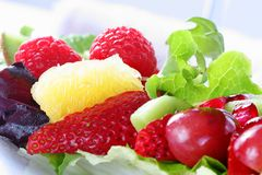 Delicious fruit salad Stock Image