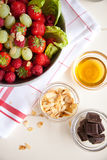 Delicious fruit salad Royalty Free Stock Photography