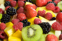 Delicious fruit salad Royalty Free Stock Photos
