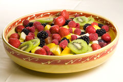 Delicious fruit salad Royalty Free Stock Image