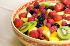Delicious fruit salad Royalty Free Stock Photos