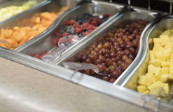 Delicious fruit selection with scoops Royalty Free Stock Photo