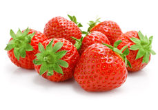 Delicious fruit, strawberries Royalty Free Stock Image