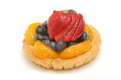 Delicious fruit tart Stock Images