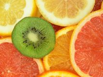 Delicious fruits Stock Photography