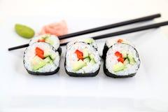 Delicious Futomaki, Sushi - Japanese food Royalty Free Stock Image