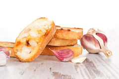 Delicious garlic bread. Stock Photography