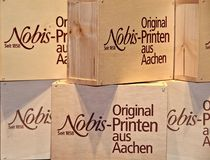 The famous Printen of Aachen, delicious gingerbread in a store royalty free stock images