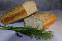 Delicious gluten-free rice bread Royalty Free Stock Photo