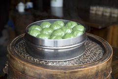 Delicious glutinous rice cake Stock Images
