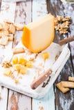 Delicious Gouda cheese Stock Image