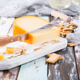 Delicious Gouda cheese Royalty Free Stock Image