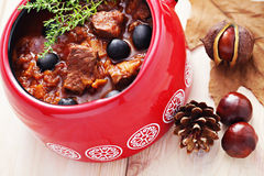Delicious goulash Royalty Free Stock Photography