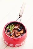 Delicious goulash Stock Photos