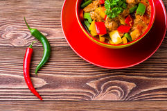Delicious goulash Royalty Free Stock Images