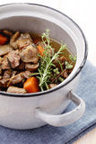 Delicious goulash Stock Photography