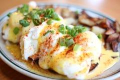 Delicious gourmet breakfast Stock Photo