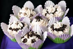 Delicious Gourmet Cupcakes Stock Image