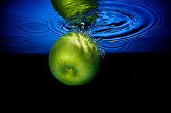 Delicious Granny Smith Apple Royalty Free Stock Photography