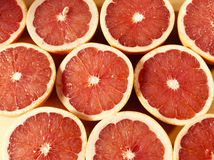 Delicious grapefruits Stock Photo