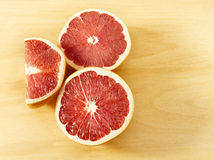 Delicious grapefruits Stock Photography