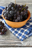 Delicious grapes in a bowl Royalty Free Stock Image