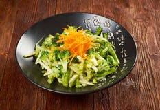 Delicious green broccoli dish Royalty Free Stock Photos