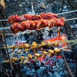 Delicious grill in outdoor Stock Photo