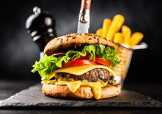 Free Delicious Grilled Burgers Stock Images - 122036834