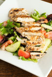 Delicious Grilled Chicken Salad Stock Images