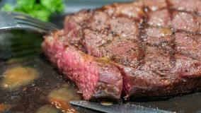 Delicious Grilled MeatBeef Steak royalty free stock photo