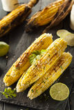 Delicious Grilled Mexican Corn Royalty Free Stock Photo