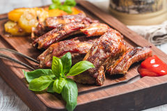 Delicious Grilled Pork Rib Royalty Free Stock Photography