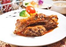 Delicious grilled pork ribs Stock Photos
