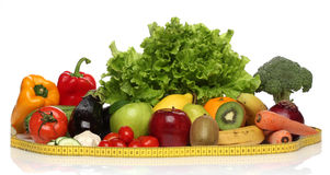 Delicious group of healthy vegetables Royalty Free Stock Photos