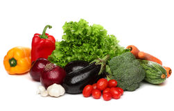 Delicious group of healthy vegetables Stock Photos