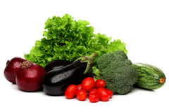 Delicious group of vegetables Royalty Free Stock Photography