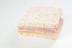 Delicious ham and cheese sandwich Royalty Free Stock Photos