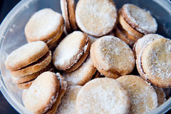 Delicious hand made cookies Stock Image
